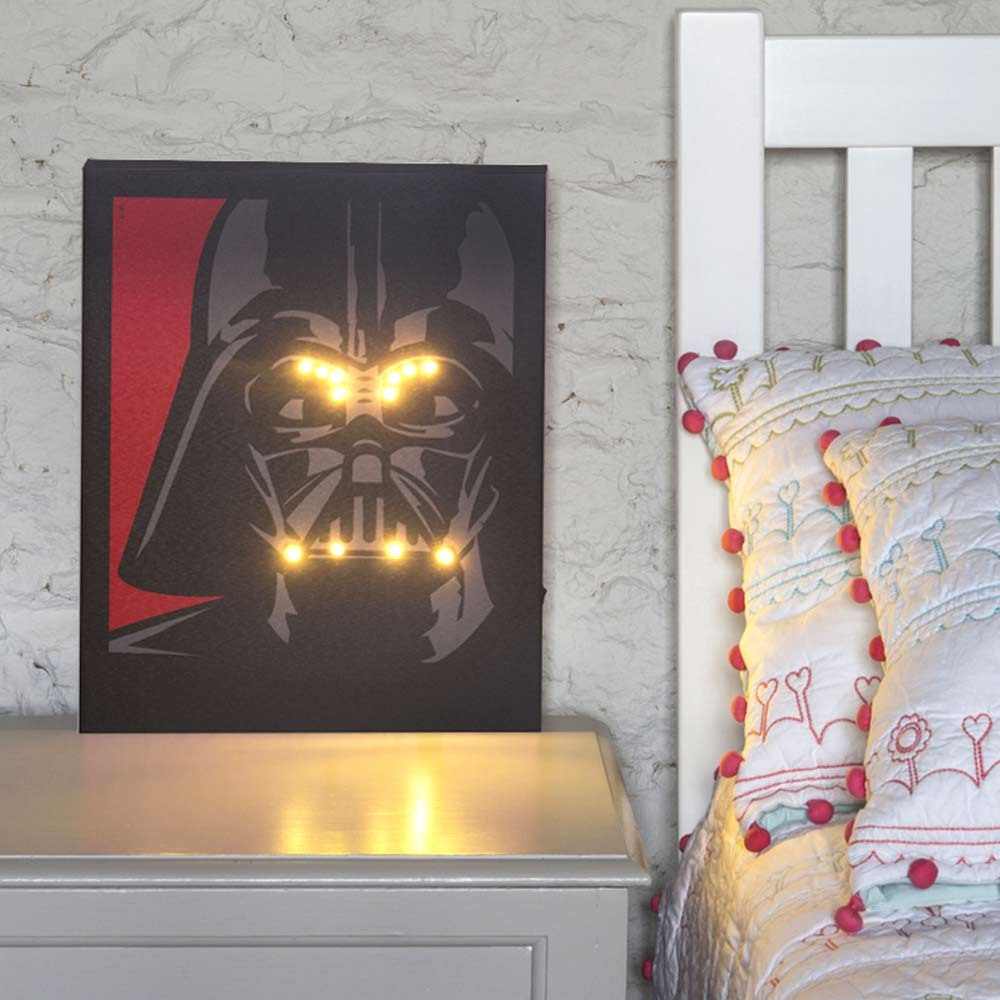 Star Wars Illuminated Canvas - 40th Birthday Gifts For Him