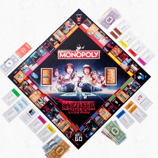Stranger Things Monopoly - 21st gift