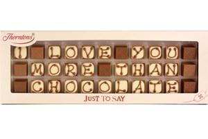 Thorntons Personalised Truffles - 33 Chocolate Box - 30th gift