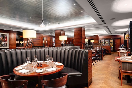 Three Course Dinner and Wine for Two at the 5* Conrad London St James - 50th gift