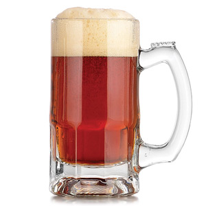 Trigger Beer Mugs 12oz LCE at 10oz (Case of 12) - 21st gift