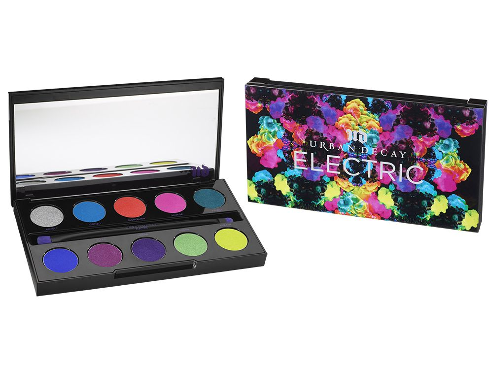 Urban Decay Electric Pressed Pigment Palette - 18th gift