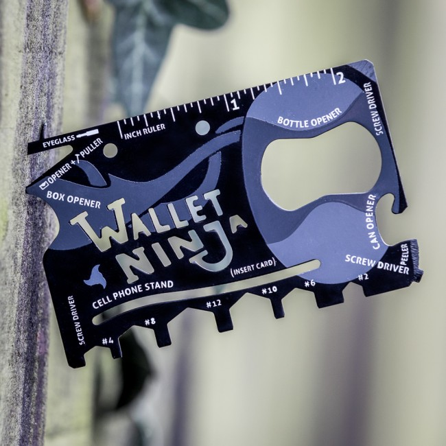 Wallet Ninja Tool - 40th Birthday Gifts For Him