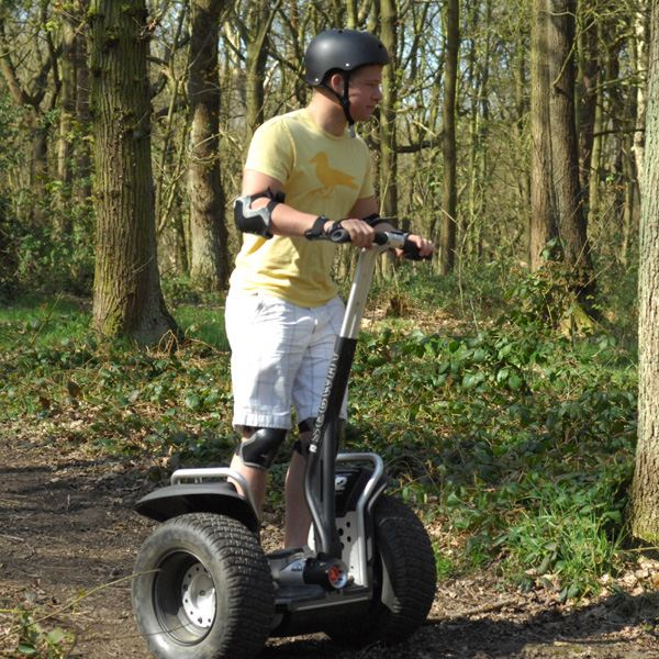 Weekend Segway Rally for Two with Photo Special Offer - 21st gift