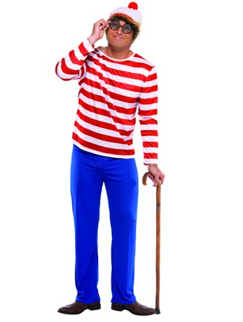 Where's Wally - 40th Birthday Fancy Dress