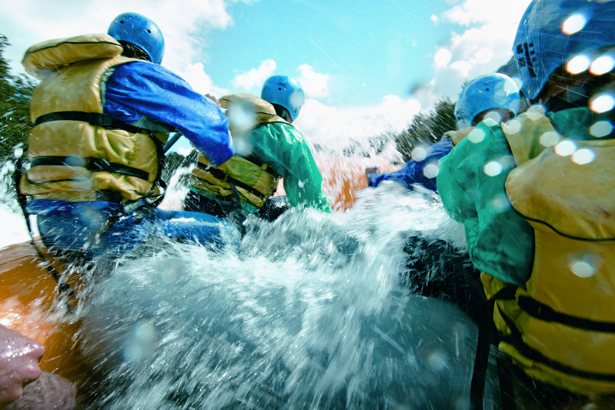 White Water Rafting for One - 16th Birthday Experiences For Him