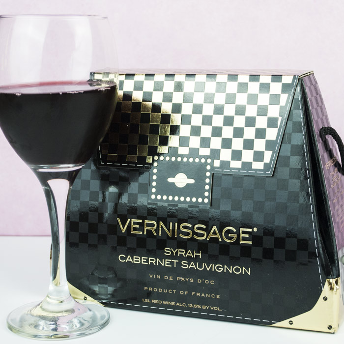 Wine Handbag - 30th gift