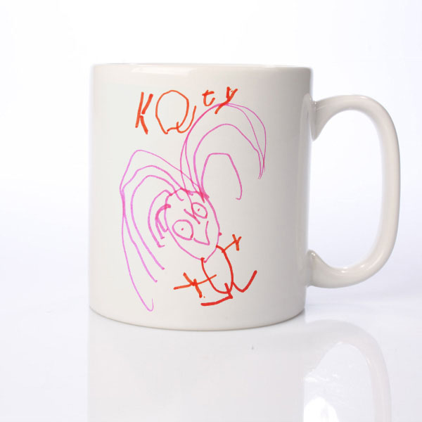 Your Childs Art on a Personalised Mug - Christmas  gift