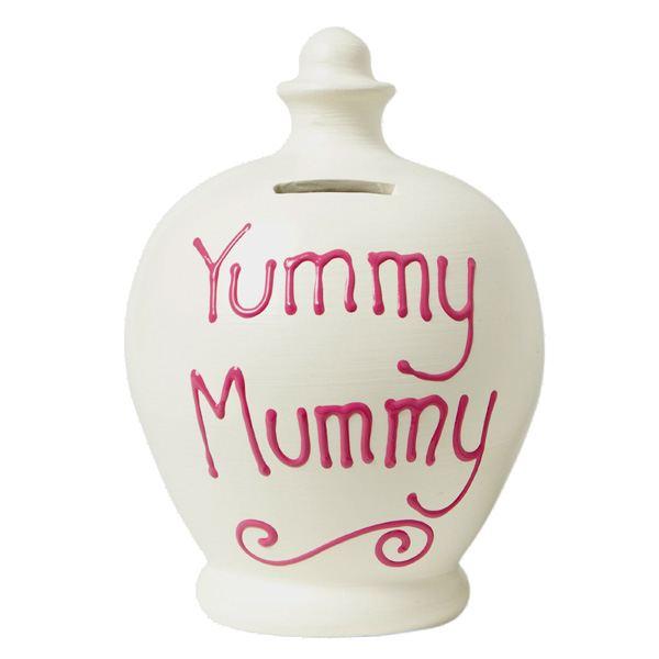 Yummy Mummy Personalised Terramundi Money Pot - Baby  Birthday Your Baby Gifts - Gifts For Mum