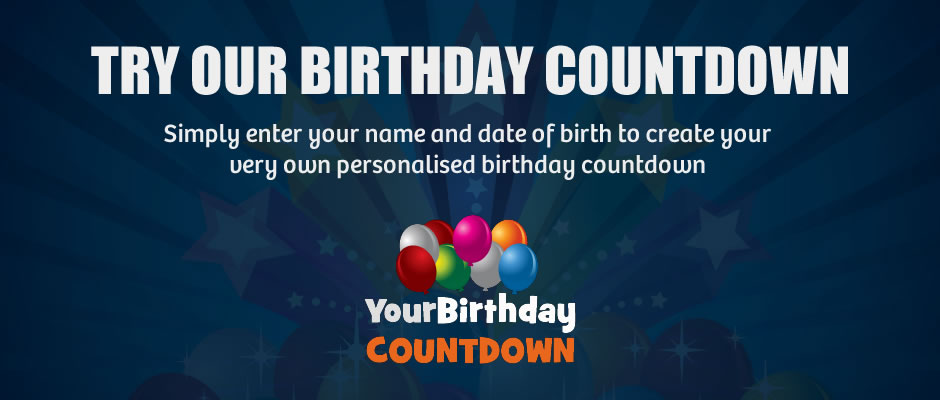 Your Birthday Countdown