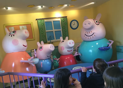 Peppa Pig's House at Peppa Pig World