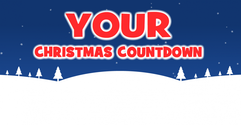 Are you counting down to Christmas?