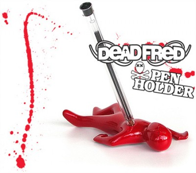 Dead Fred Pen Holder