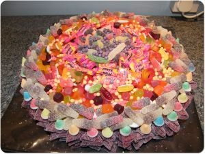 Pic & Mix Sweets Birthday Cakes