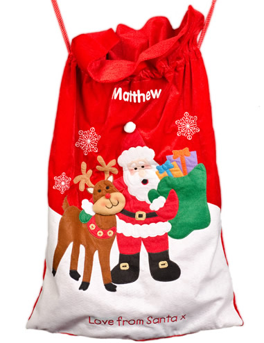 Twitter Competition #7 - Personalised Giant Santa Sacks