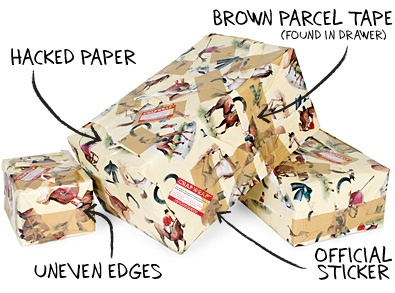 Unique Gift Wrapping