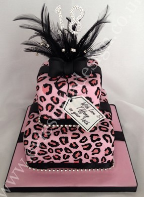 18th Spot Birthday Cake