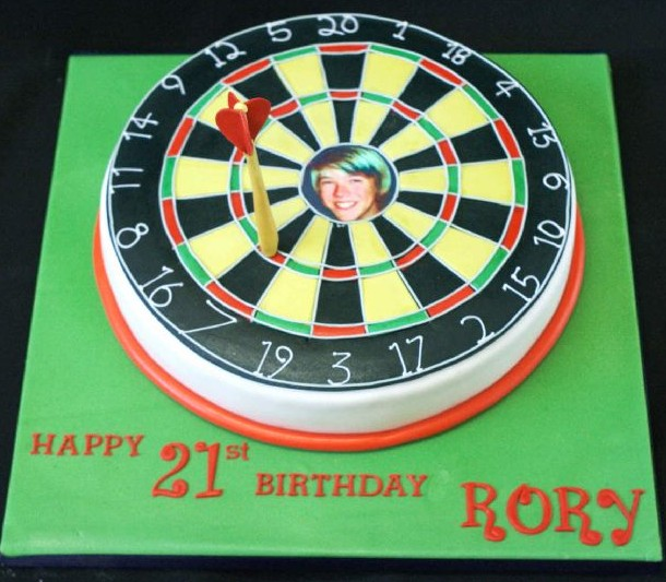 Dart board 21st birthday