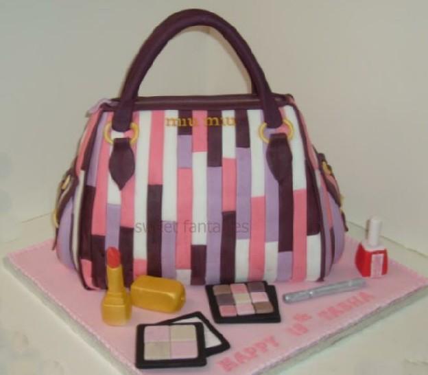 Miu Miu Handbag Cake