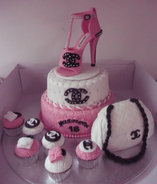 Chanel 18th birthday cake