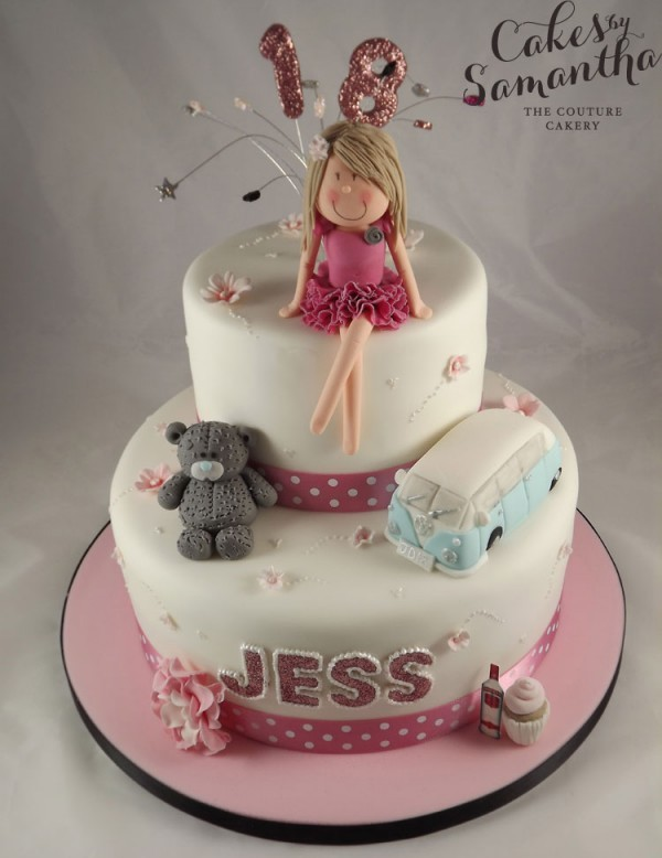 Stupendous 18Th Birthday Cakes For Girls Your 18Th Blog Funny Birthday Cards Online Fluifree Goldxyz