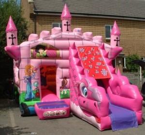 Disney Princess Bouncy Castle (20x14)