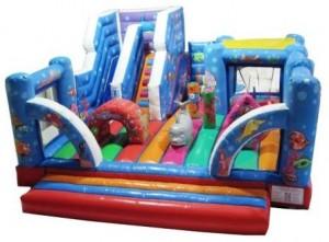 SeaWorld 3D Childrens Combo Bouncy Castle (21x27)