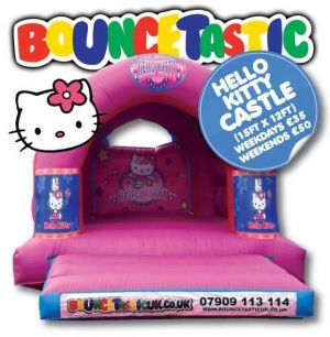 Hello Kitty Bouncey Castle