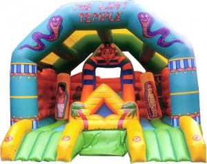 Activity Castle And Slide With Cover (21x17)