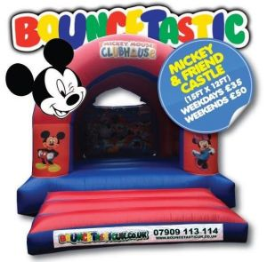 Mickey Mouse Bouncey Castle