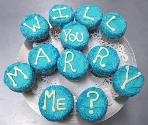 Bake some marry me cupcakes