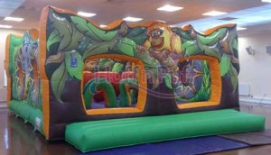 Jungle Kingdom Bouncy Castle (28x20)