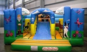 Farmyard Adventure Bouncy Castle (18x18)
