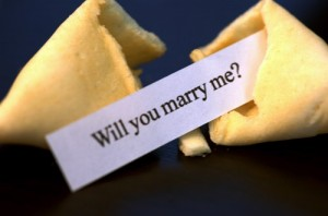 Make or buy some will you marry me fortune cookies