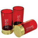 12 Gauge Cartridge Shaped Shot Glass (Pack of 4) - 21st gift