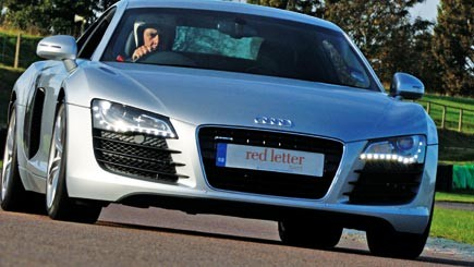 Audi R8 Thrill - 18th gift