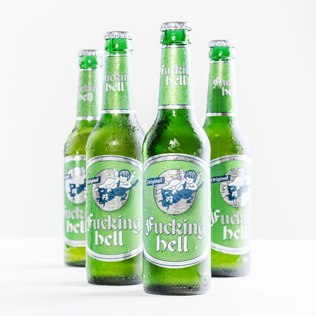 Fucking Hell Beer (10 Pack) - 18th gift