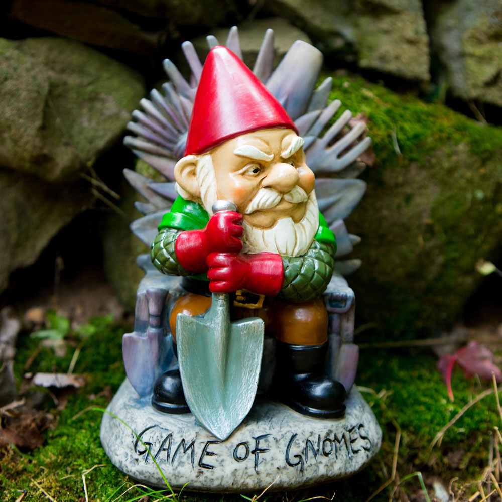 Game of Gnomes Gnome - 21st gift