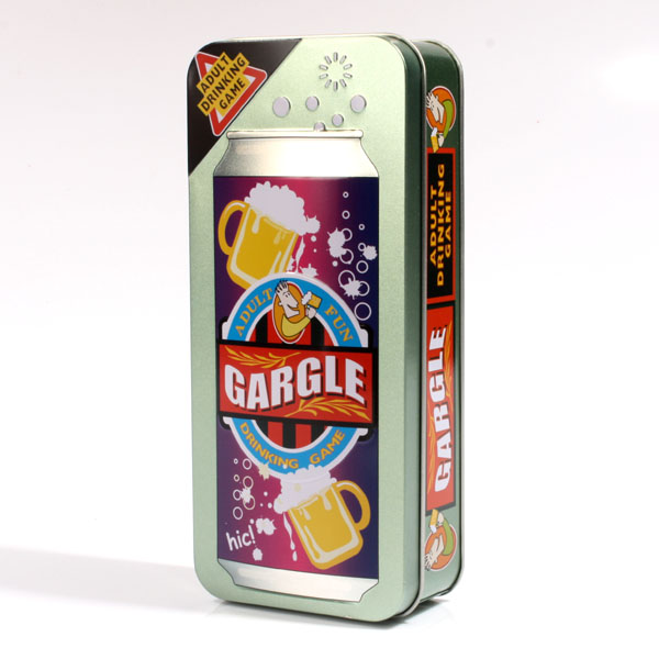 Gargle Drinking Game - 30th gift
