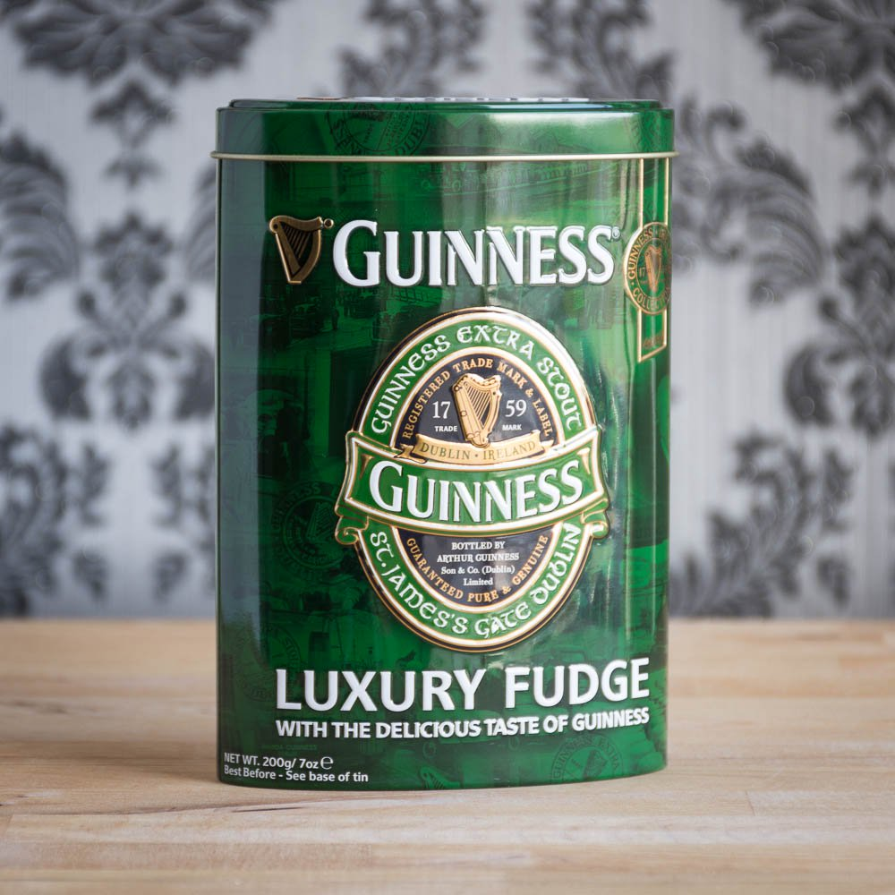 Guinness Fudge In Oval Tin - 21st gift
