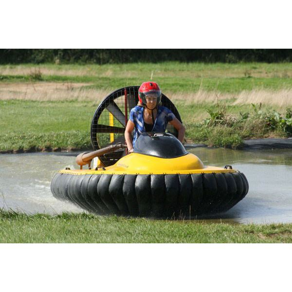 Hovercraft Flying for One Special Offer - 21st gift