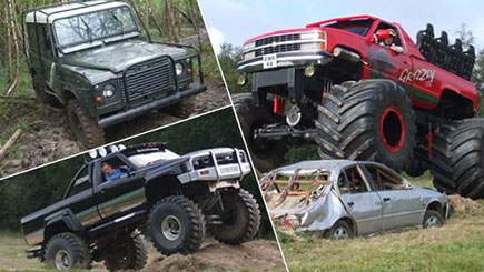 Monster Truck Driving Experience - 18th gift