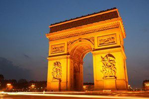 One Night Paris Break for Two - 50th gift