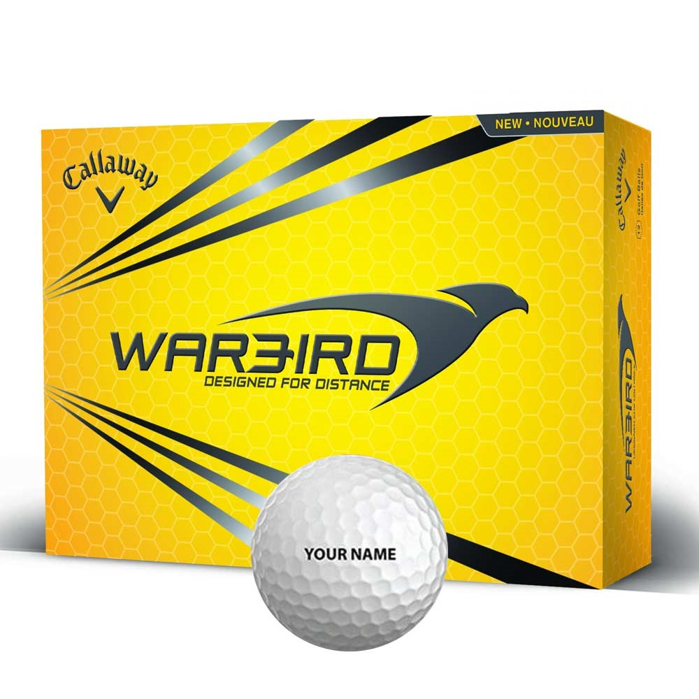 Personalised Golf Balls - 12 Pack - 21st gift