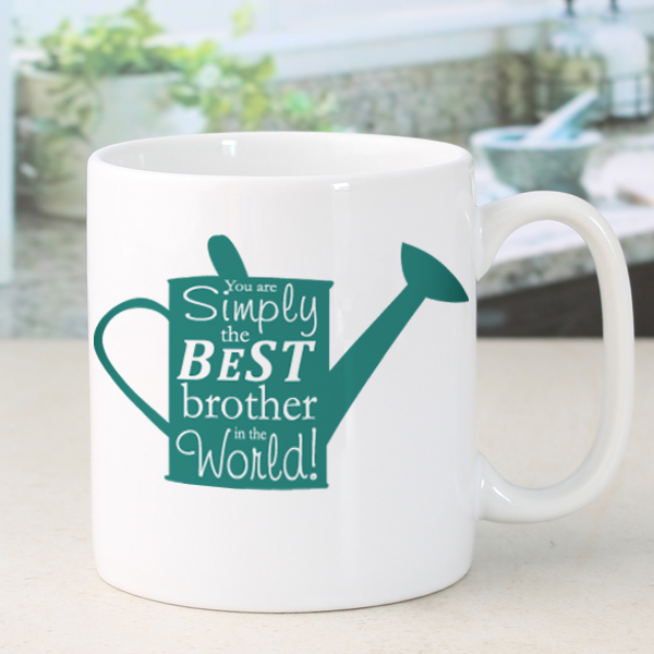 Personalised Simply The Best Watering Can Design Mug - 50th gift