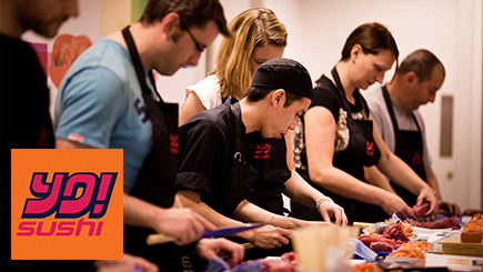 Sushi Making with YO! Sushi - 21st gift