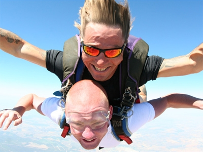 The Highest Tandem Skydive in the UK - 18th gift