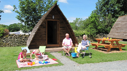Two Night Wigwam Break For Two in Cumbria - 50th gift