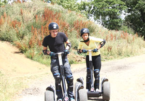 Weekend Segway Rally For Two Special Offer - 18th gift